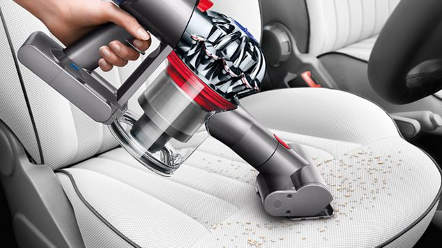 Vacuum on car seat